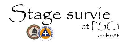 logo du stage survie et psc1