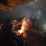 tournage sur le camp