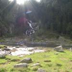 rivière en montage