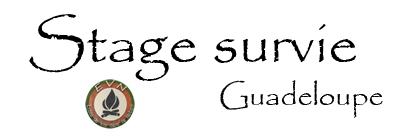 logo stage de survie guadeloupe